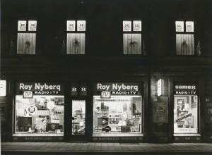Roy Nybergs radion och TV Samex Brogatan 9 kväll