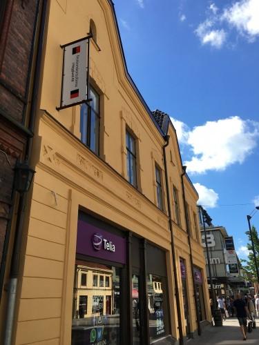 Efter renovering - Utmed Brogatan