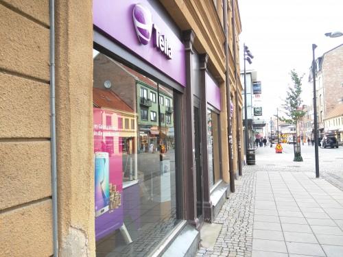 Före renovering - Utmed Brogatan